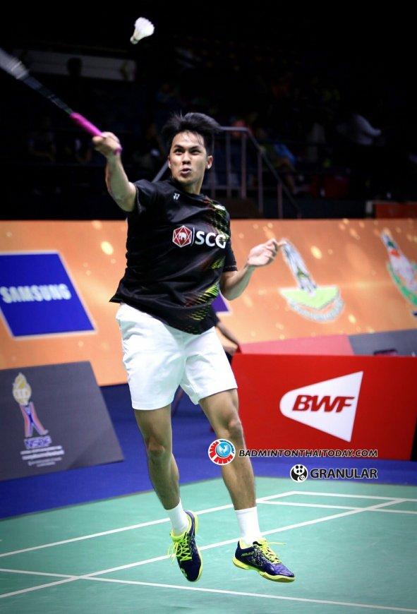 เชียร์นักแบดชายคู่ไทยตบกับญี่ปุ่นที่จีนวันนี้ Badminton Thai Today