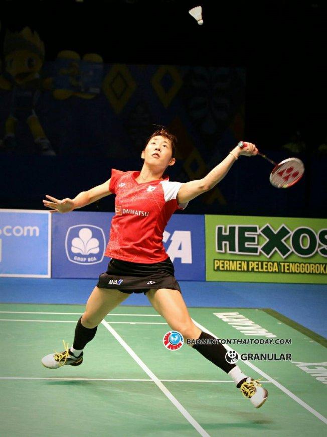 Sayaka Sato จากญี่ปุ่น คว้าแชมป์ภญิงเดี่ยวแบดอินโดนีเซีย โอเพ่น