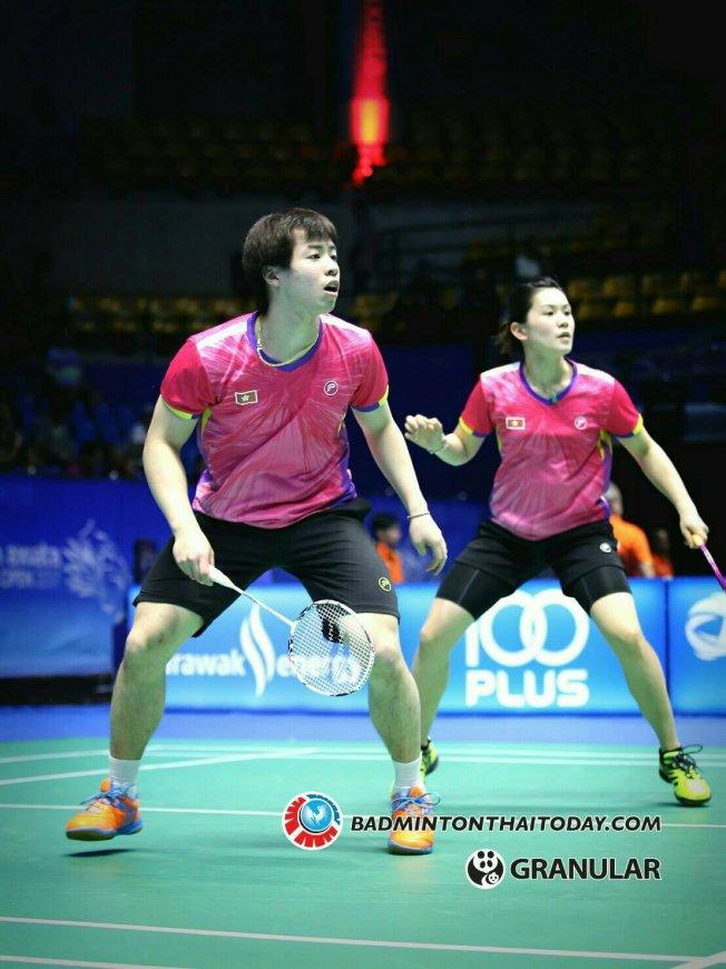 """สุธีรมานคัพ 2017 """"ไทย ภ่องกง""""แมทช์ที่ใครแพ้ตกรอบ Badminton Thai"""